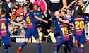 Barcelona con gran actuación de Messi goleó 3-0 a Real Madrid en el clásico español [VIDEO]