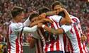Chivas masacró 3-0 a Seattle Sounders y clasificó a semifinales de la Concachampions