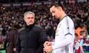 """Zlatan Ibrahimovic ha tenido una fuerte discusión con José Mourinho y """"no quiere saber nada de él"""""""