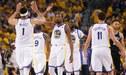 Los Warriors ganaron 113-92 a los Spurs en el primer juego de los playoffs de la NBA [VIDEO]