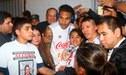 Paolo Guerrero está recibiendo el respaldo de todo el mundo