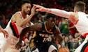 Pelicans vencieron 131-123 a Blazers y avanzaron a semifinales de la Conferencia Oeste de la NBA