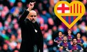 Pep Guardiola: Habló del FC Barcelona olvidándose que es DT del Manchester City [VIDEO]