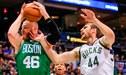 Boston Celtics derrotó a Milwaukee Bucks en el Juego 5 de los Play offs de la NBA