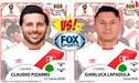FOX SPORTS PERÚ: ¿Lapadula o Pizarro? Quién sería reemplazo de Paolo Guerrero [VIDEO]