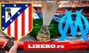 Atlético Madrid vs. Olympique de Marsella: canales y árbitro para la gran final de Europa League [GUÍA TV]