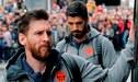 Lionel Messi y Luis Suárez viajaron con Barcelona para jugar amistoso en Sudáfrica [FOTO]