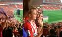 ¡EUFORIA! Hinchas del Atlético Madrid disfrutaron del título de Europa League en el Wanda Metropolitano [VIDEO]