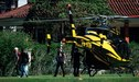 Rusia 2018: Neymar llegó a la concentración brasileña en helicóptero