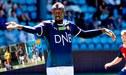 Usain Bolt jugó fútbol en Noruega y utilizó peculiar dorsal [VIDEO]