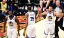 Warriors campeón de la NBA tras vencer 108 - 85 a los Cavaliers en la final