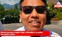 Hincha peruano regala viaje al Mundial a su padre tras ganar sorteo [VÍDEO]