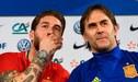 Sergio Ramos se pronuncia tras la destitución de Julen Lopetegui en España