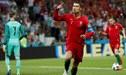 España vs. Portugal: Cristiano Ronaldo anota el 2-1 tras un blooper colosal de De Gea [VIDEO]