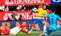 Brasil vs Suiza: Philippe Coutinho y la obra de arte para el 1-0 [VÍDEO]