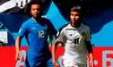 Brasil vence a Costa Rica por 2- 0, con gol agónico de Philippe Coutinho y Neymar, por el Grupo E del Rusia 2018