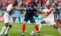 """Olivier Giroud sobre el partido frente a Perú: """"hice uno de mis mejores partidos con la selección"""""""