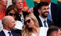 Rusia 2018: Gerard Piqué se olvida de la eliminación española presenciando un partido de Wimbledon
