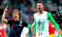 Danijel Subasic y una conmovedora historia que le puede generar una sanción por parte de la FIFA