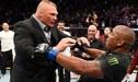 UFC: Brock Lesnar acepta reto de Daniel Cormier en medio de empujones [VIDEO]