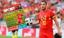 Eden Hazard es pretendido por Barcelona, según el diario español