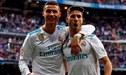 "Marco Asensio a Cristiano Ronaldo: ""Has sido un ejemplo"""