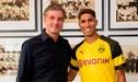 Achraf Hakimi deja el Real Madrid y ficha por el Borussia Dortmund