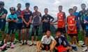 Real Madrid y Barcelona invitan a los 12 niños futbolistas rescatados de cueva en Tailandia