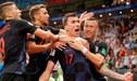 Rusia 2018: Según ranking FIFA, Croacia es la peor finalista de un Mundial