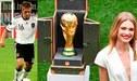 Francia vs. Croacia: Philip Lahm y la modelo rusa Natalia Vodianova llevarán el trofeo del Mundial en la final