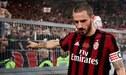 Leonardo Bonucci no tiene claro su futuro en el AC Milan