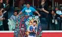 Maradona volvió a defender a Messi y de paso le dejó su 'chiquita' a Sampaoli