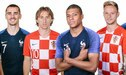 Francia vs. Croacia EN VIVO con Griezmann, Modric, Mbappé y Rakitic por la final del Mundial Rusia 2018