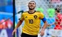 Inglaterra vs Bélgica: Eden Hazard marca el 2-0 con un soberbio golazo [VIDEO]