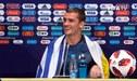 Antoine Griezmann recibió una bandera de Uruguay en plena conferencia tras título de Francia [VIDEO]