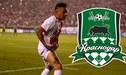 ¡Oficial! Christian Cueva es confirmado como nuevo jugador de Krasnodar [FOTO]