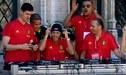 El show de Eden Hazard en las celebraciones de Bélgica [VIDEO]