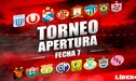 Torneo Apertura 2018: así quedó la tabla de posiciones al término de la fecha 7