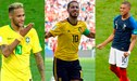 ¡SORPRESAS! Este es el XI ideal del Mundial que eligió la FIFA [FOTO]