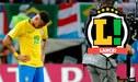 """Diario Lance sobre Neymar: """"Es la peor figura brasileña en los últimos 20 años"""""""