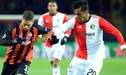 Feyenoord y su afición reciben de manera emotiva a Renato Tapia [VIDEO]