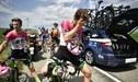 Tour de Francia se interrumpió por ataque contra ciclistas [FOTOS]