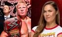 Brock Lesnar y Ronda Rousey destacan en la espectacular cartelera del próximo RAW