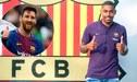 """Malcom tras ser presentado en el Barcelona: """"Messi es el mejor jugador del Mundo, será una experiencia jugar a su lado"""""""