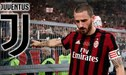 Bonucci volverá a la Juventus de Ronaldo y entregará al AC Milan a una de sus joyas