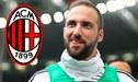 ¡Acuerdo total! Gonzalo Higuaín deja Juventus y ficha por AC Milan