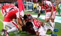 Santa Fe venció 2 - 0 al Rampla Juniors y logró el pase a octavos de la Copa Sudamericana [RESUMEN Y GOLES]