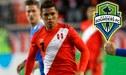 Paolo Hurtado podría cerrar esta semana su pase al Seattle Sounders de Raúl Ruidíaz
