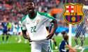 Barcelona: El senegalés Moussa Wagué a horas de cerrar su fichaje