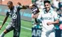 Duelo de peruanos en la MLS: Raúl Ruidiaz 'amenaza' a Alexi Gómez